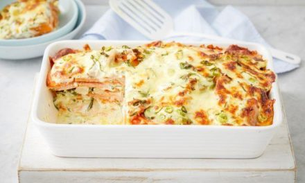 Creamy Sweet Potato and Chicken Bake