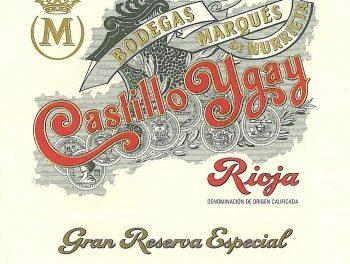 'Castillo Ygay' Rioja Gran Reserva Especial 2009, Marques de Murrieta