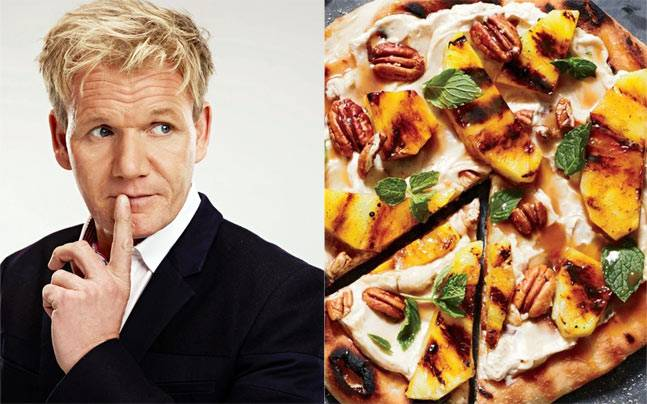 What have pizzas and Gordon Ramsay got in common?