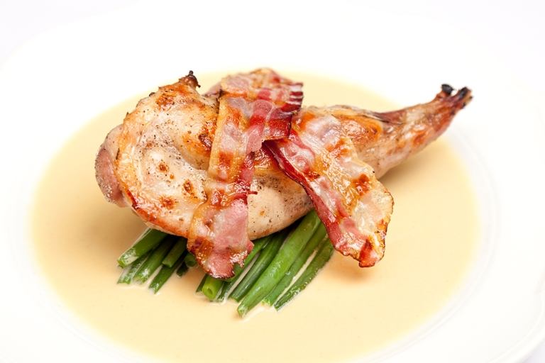 Classic Rabbit with Dijon Mustard