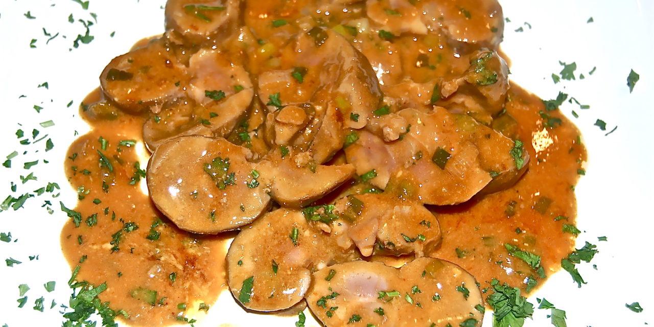 Sautéed Lamb's Kidneys with Dijon Mustard