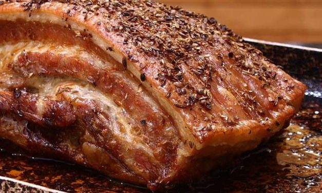Slow Roast Spiced Crispy Belly of Pork