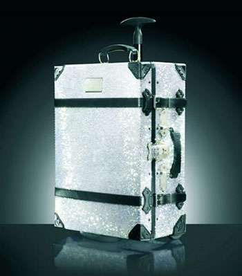 Swiss PR Executive's Crystal-encrusted Suitcase Stolen from Mayfair hotel,