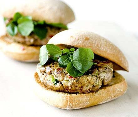 My Thai Turkey Burgers