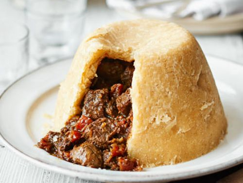 Sarah's Mum's Steak and Kidney Pudding