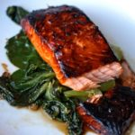 Sticky Ginger and Chilli Salmon