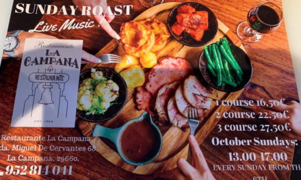 La Campana Joins the Sunday Lunch Venues