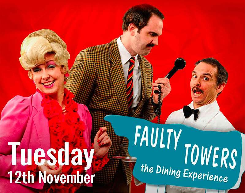 """Faulty Towers – The Dining Experience"""" is set to take over La Sala Puerto Banus"""