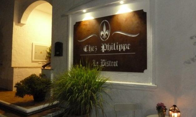 Morris Dines at Chez Philippe Bistró, Los Naranjos