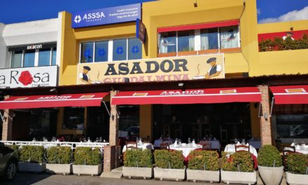 Morris Calls into one of  My Local Favourites, Asador de Guadalmina