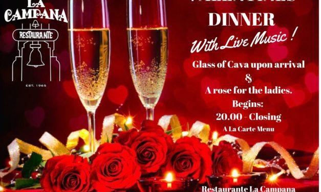 La Campana  St Valentine's Night Dinner