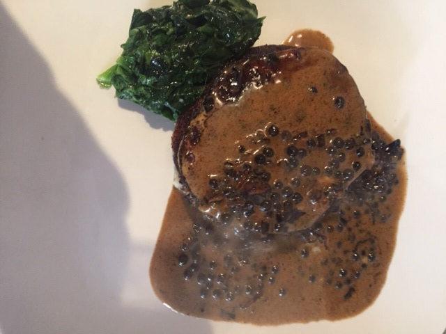 My Vegan/Vegeterian 'Swede au Poivre'