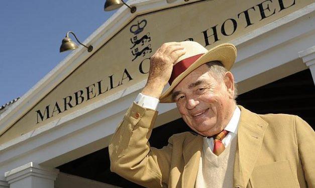 Rudolf Graf von Schönburg, Count Rudi, of the Marbella Club Hotel