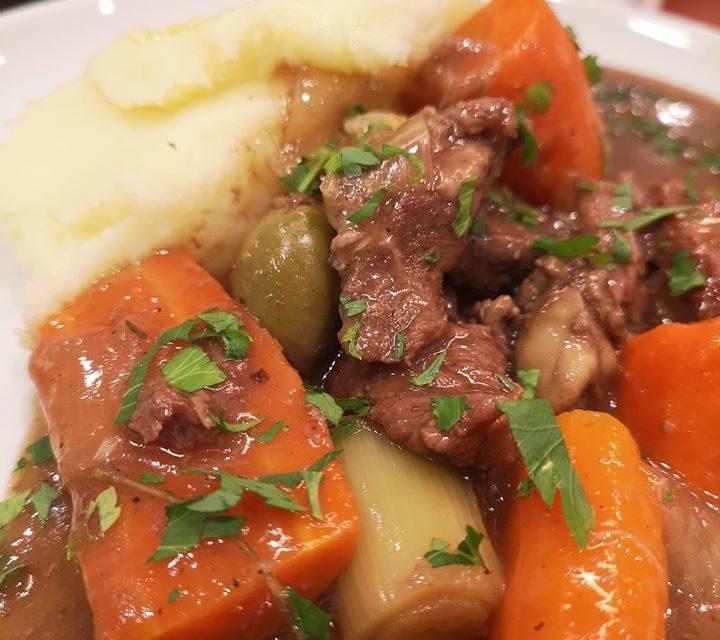 Super Yacht Rod's Daube of Beef (posh stew!)