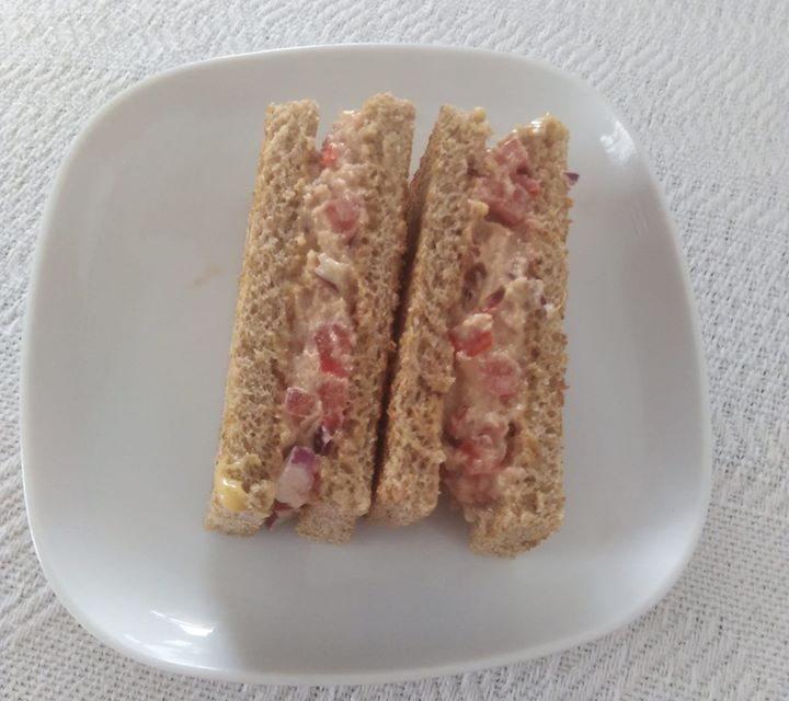 Chef Joffrey elevates the humble Tuna Sandwich to the Sandwich Supreme