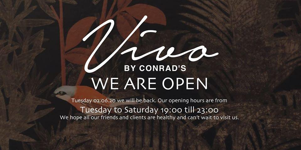 Vivo by Conrad's — Morris Re-Visits